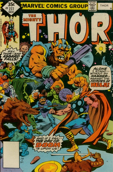 Thor 277 - Time of the Trolls!