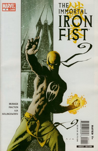 The Immortal Iron Fist 1 - The Last Iron Fist Story: Part 1