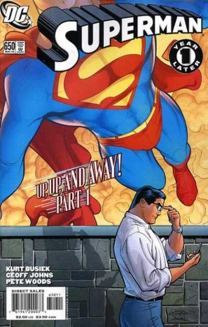 Superman 650 - Up, Up and Away!, Chapter 1: Mortal Men