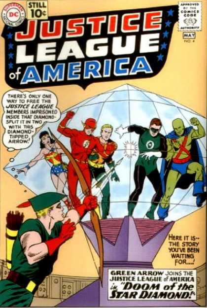 Justice League Of America 4 - Doom of the Star Diamond