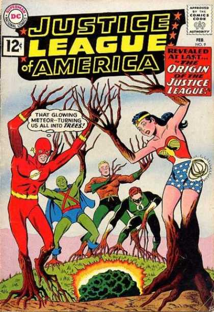 Justice League Of America 9 - The Origin Of The Justice League!