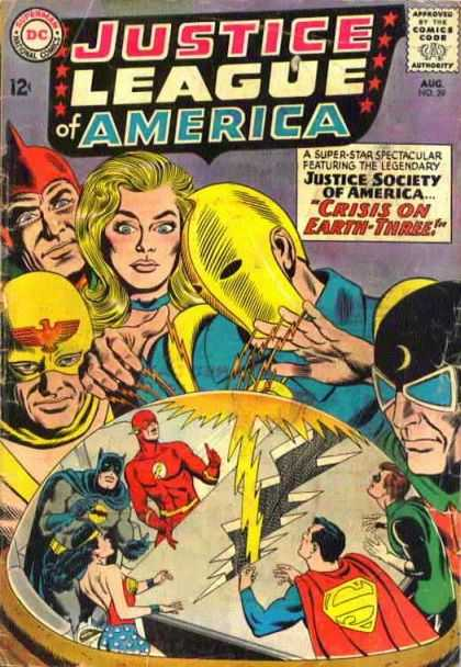 Justice League Of America 29 - Crisis on Earth-Three!