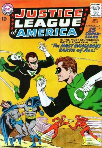 Justice League Of America 30 - The Most Dangerous Earth of All