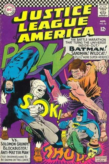 Justice League Of America 46 - Crisis Between Earth-One and Earth-Two!