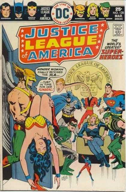 Justice League Of America 128 - Death-Visions of the Justice League!