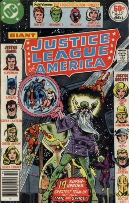 Justice League Of America 147 - Crisis in the 30th Century!