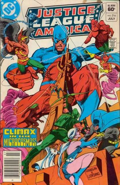Justice League Of America 216 - Into The Microcosmos - - Conclusion!