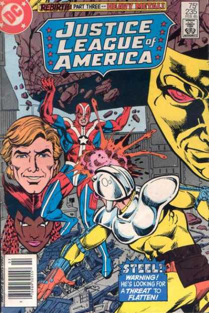 Justice League Of America 235 - Heavy Metal