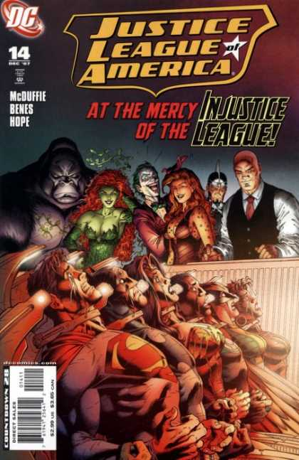 Justice League Of America 14 - Unlimited, Chapter 3: Two Against Nature