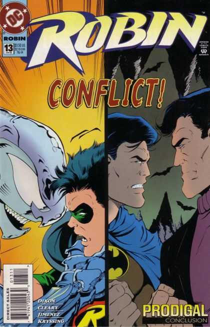 Robin 13 - Prodigal, Conclusion: Wings Over Gotham
