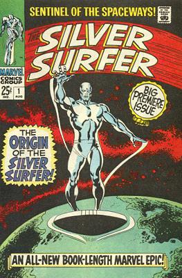 Silver Surfer 1 - The Origin of the Silver Surfer!