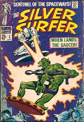 Silver Surfer 2 - When Lands the Saucer