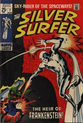 Silver Surfer 7 - The Heir of Frankenstein!