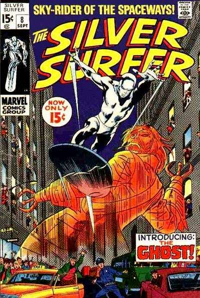 Silver Surfer 8 - Now Strikes the Ghost!