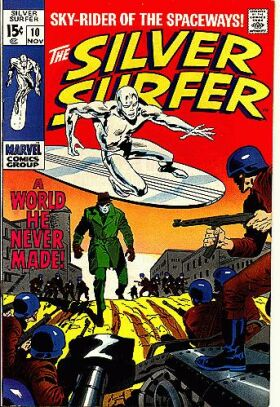 Silver Surfer 10 - A World He Never Made!