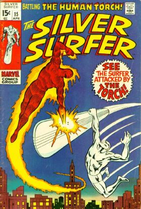 Silver Surfer 15 - The Flame and the Fury!