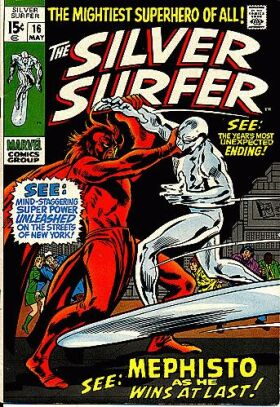 Silver Surfer 16 - In the Hands of... Mephisto!