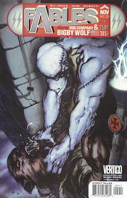 Fables 29 - Frankenstein Versus the Wolf Man