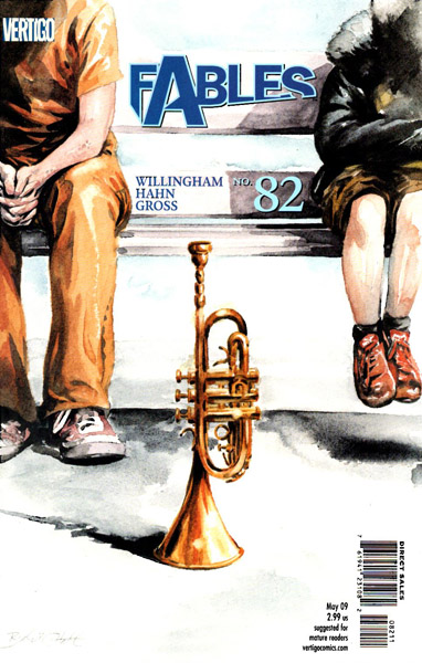Fables 82 - Waiting for the Blues (An Epilogue of Sorts for The Dark Age...