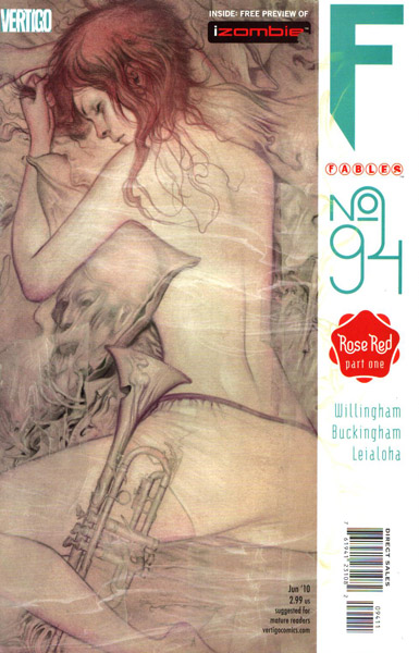 Fables 94 - The Barbara Allen Incident