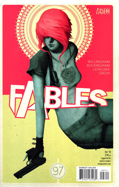 Fables 97 - Dark Age Party Girl