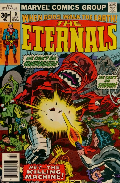 Les Eternels 9 - The Killing Machine!!