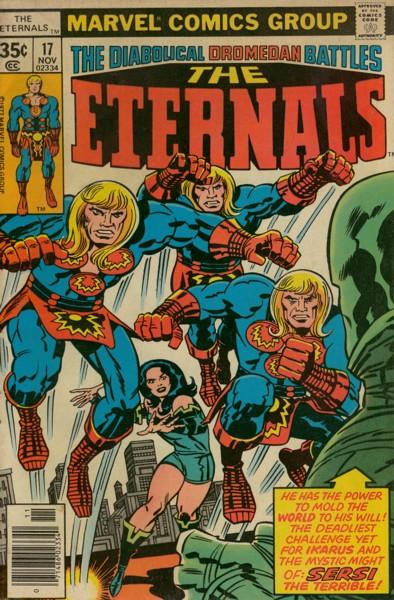 Les Eternels 17 - Sersi the Terrible