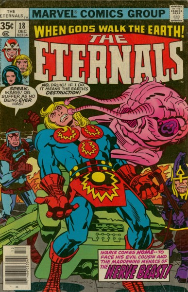 Les Eternels 18 - To Kill a Space God!