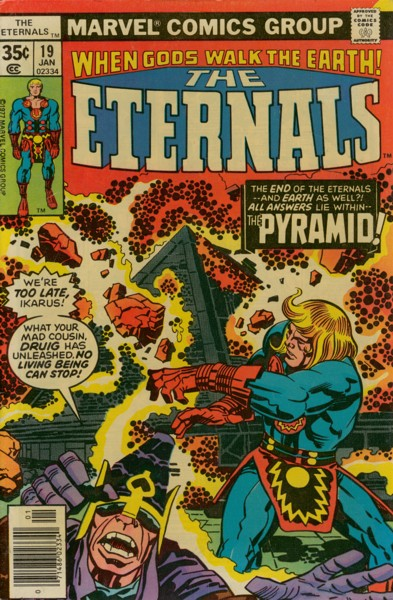 Les Eternels 19 - The Pyramid