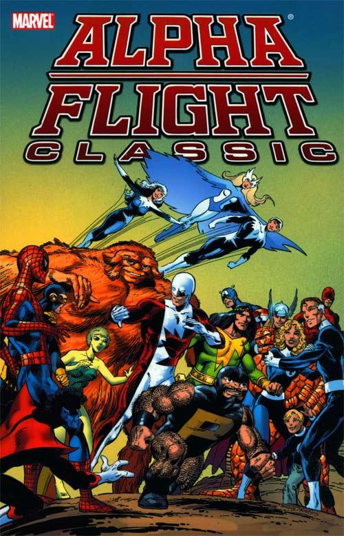 Alpha Flight 1 - Alpha Flight Classic, Volume 1