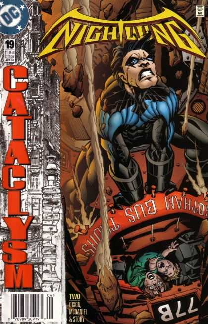 Nightwing 19 - Cataclysm, Part Two: Shudder