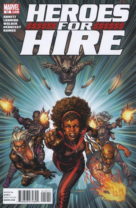 Heroes for Hire 12 - Starting Point