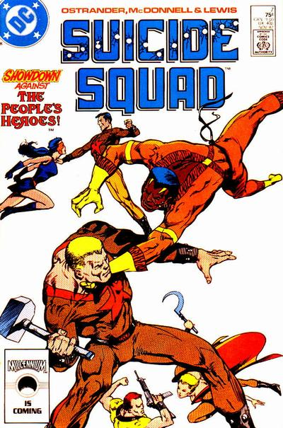 Suicide Squad 7 - Thrown to the Wolves