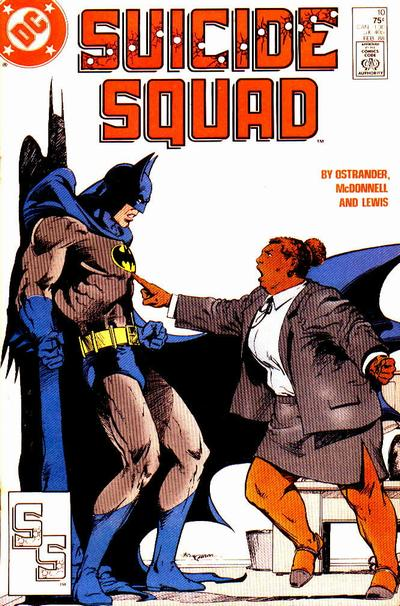 Suicide Squad 10 - Up Against the Wall