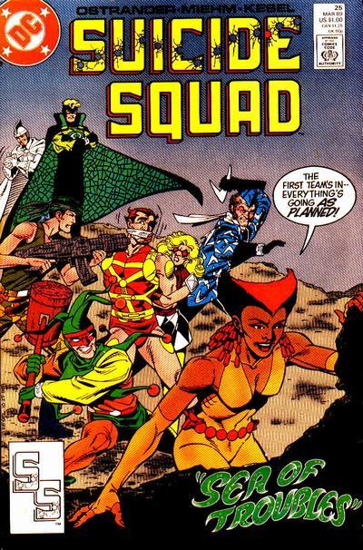 Suicide Squad 25 - Sea of Troubles