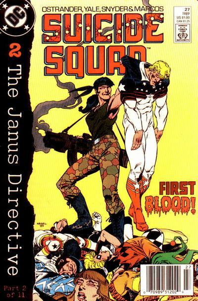 Suicide Squad 27 - Scattermove
