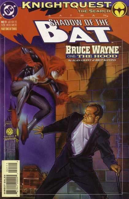 Batman - Shadow of the Bat 21 - Knightquest: The Search: Bruce Wayne, Part One: The Hood