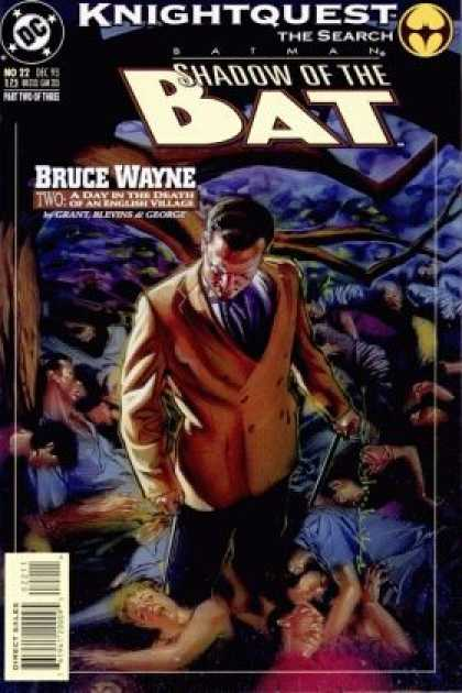 Batman - Shadow of the Bat 22 - Knightquest: The Search: Bruce Wayne, Part Two: A Day in the...