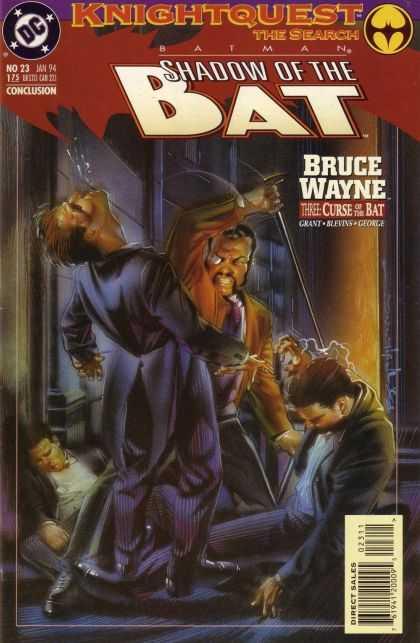 Batman - Shadow of the Bat 23 - Knightquest: The Search: Bruce Wayne, Part Three: Curse of t...
