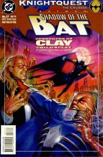 Batman - Shadow of the Bat 27 - Knightquest: The Crusade: Creatures of Clay, Part 2: Child's...