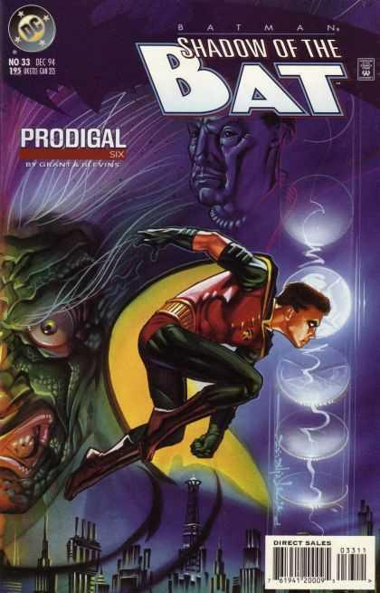 Batman - Shadow of the Bat 33 - Prodigal, Part Six