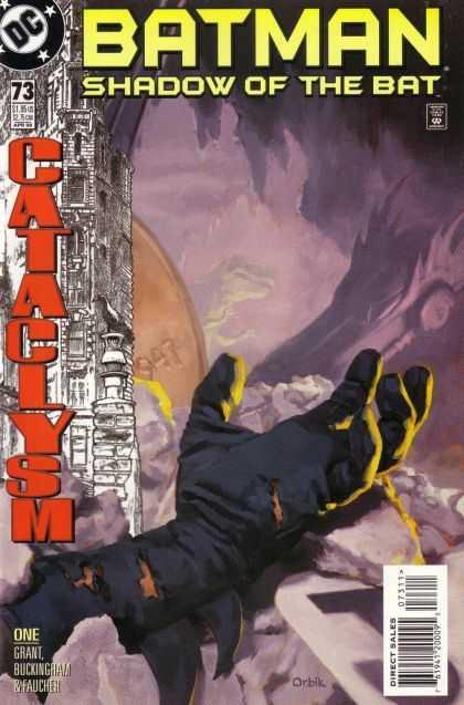 Batman - Shadow of the Bat 73 - Cataclysm, Part 1: Castles Built on Sand