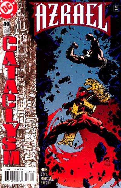 Azrael - Agent of the Bat 40 - Cataclysm, Part Four: Hour of the Quake