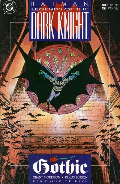 Batman - Legends of the Dark Knight 6 - Gothic, Volume One: Man Without a Shadow