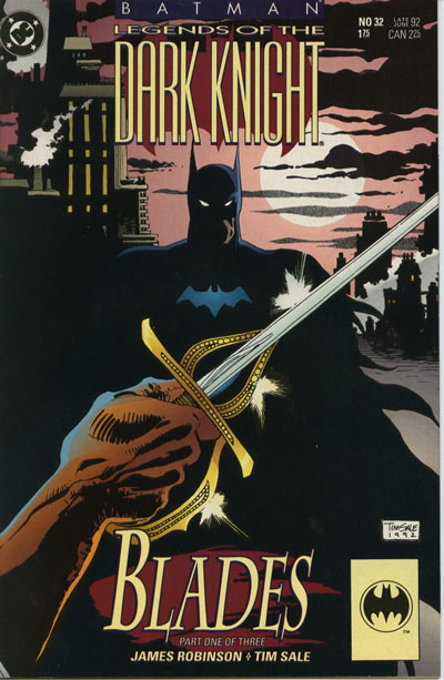 Batman - Legends of the Dark Knight 32 - Blades: Part One