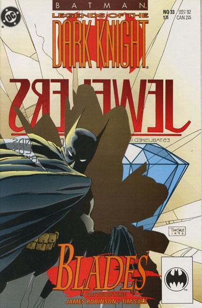 Batman - Legends of the Dark Knight 33 - Blades: Part Two