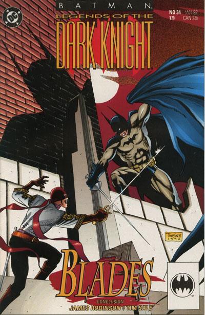 Batman - Legends of the Dark Knight 34 - Blades: Part Three