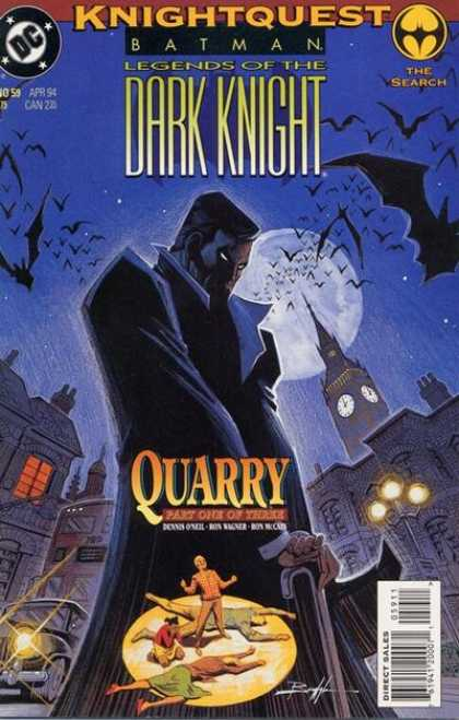 Batman - Legends of the Dark Knight 59 - Knightquest: The Search: Quarry, Part One