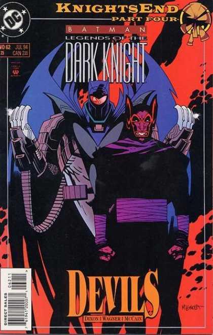 Batman - Legends of the Dark Knight 62 - KnightsEnd, Part Four: Devils