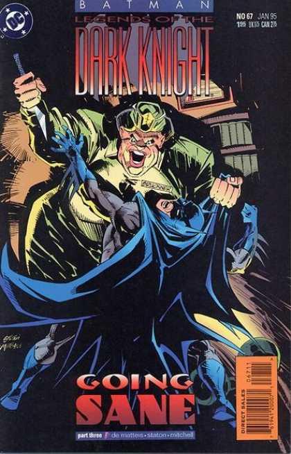 Batman - Legends of the Dark Knight 67 - Going Sane, Part Three: Breaking the Surface